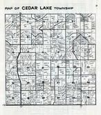 Cedar Lake Township, Scott County 1940c